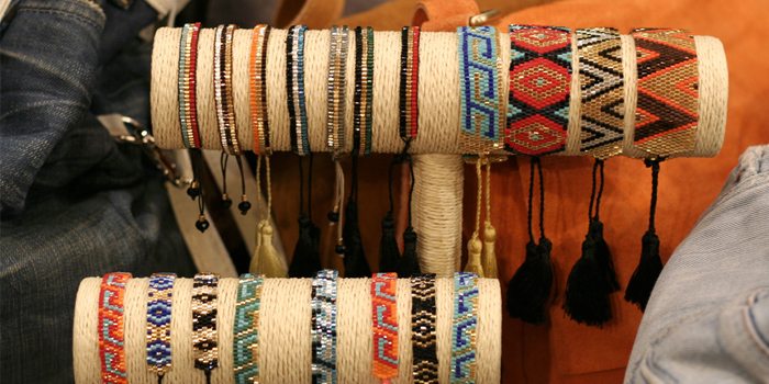 bracelet en perles japonaisess