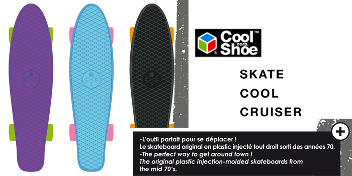Cool Shoe Cool Cruiser